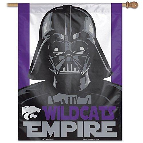 NCAA Kansas State Wildcats Star Wars Darth Vader Vertical Flag, 27 x 37-Inch