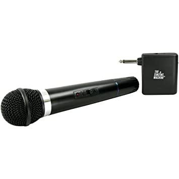 karaoke machine with cordless microphone