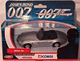 Corgi james bond 007 the world is not enough BMW Z8 the ultimate bond collection diecast model