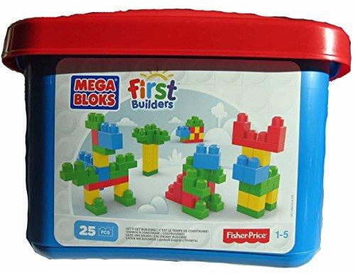 Mega Bloks First Builders 25 Pcs - 1