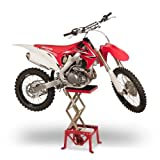 ConStand Béquille Moto Cross Hydraulique XL rouge Yamaha YZ 85/ 125/ 250/ 450/ F