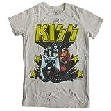 """(トランク・リミテッド)TRUNK LTD レディース半袖Tシャツ """"NOTHIN' TO LOSE"""" KISS/キッス ダメージ加工 バンドTシャツ/ロックTシャツ [並行輸入品] XL"""