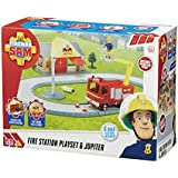 Fireman Sam Station Playset (14 Pieces)