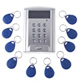 Docooler® LCD Display Networking Entry Door Access Control System + 10 Key Fobs (Style 3)