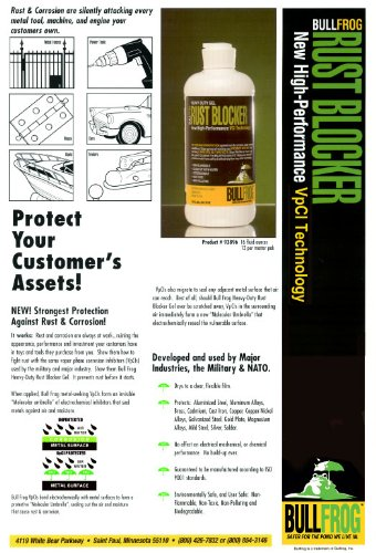 Bull Frog 93896 Rust Blocker Rust Inhibitor 16 oz