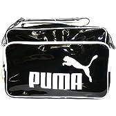 プーマ TSシャイニー ビッグロゴラージショルダーバッグ 03 ブラック/ホワイト 06409903
