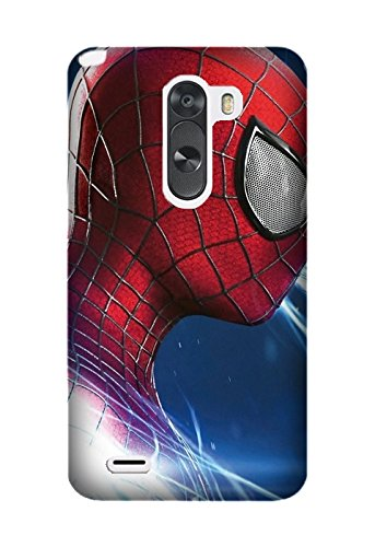 LG K7 Protective Case, Movie The Amazing Spider-Man 2 Protective Case Bumper [Anti-Slip] [Good Grip] with Aesthetic Print Hard Back Cover for LG K7