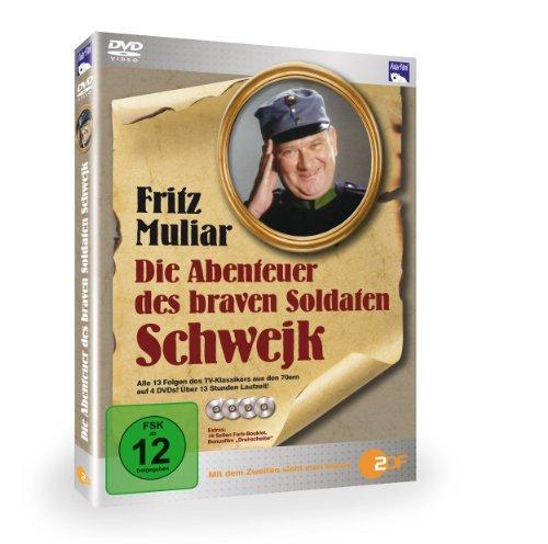 Die Abenteuer des braven Soldat Schwejk [4 DVDs]