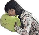 お昼寝枕 机 デスクでまくらに手を入れチョイ寝