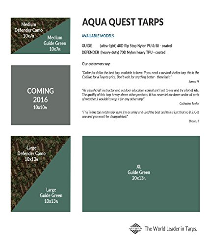 aqua quest guide sil tarp review