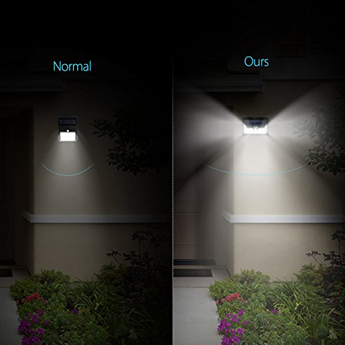 Litom Solar Lights Super Bright 24 LED Outdoor