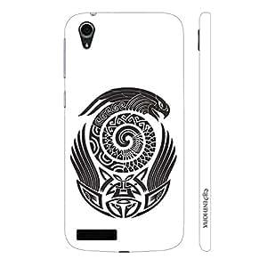 Enthopia Designer Hardshell Case Maori Eagle Back Cover for Lenovo A3900