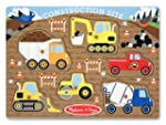Melissa & Doug Construction Site Peg...