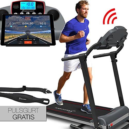 Sportstech F10 Laufband mit Smartphone App Steuerung,...