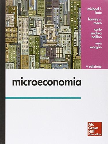 Microeconomia Con aggiornamento online PDF