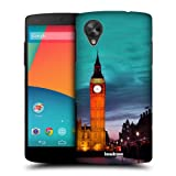 Head Case Big Ben Clock Tower At Night London Case For Lg Google Nexus 5 D821