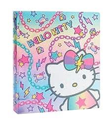 Hello Kitty Gradation Collection #10289 Glittered 3 Ring School Binder (1in)