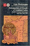 img - for Constantino el Grande y Crist bal Col n : estudio de la supremac a papal sobre islas, 1091-1493 (Historia) (Spanish Edition) book / textbook / text book