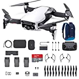 DJI Mavic Air Fly More Combo, Arctic White Portable Quadcopter Drone with 32G SD Card and More … (Color: White)