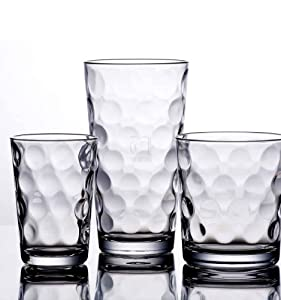 Galaxy Glassware 12-pc. Set by Home Essentials