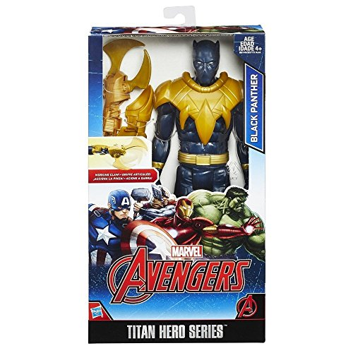 Avengers Titan Hero figure With Gear - Black Panther