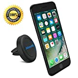 Air Vent Car Mount Cell Phone Holder, JEBSENS CA02 Magnetic Air Vent Car Mount, Portable Universal Car GPS Smartphone Holder Mount, Apple iPhone 6 / 6 PLUS (5.5″), 3 Metal Plates & Protection Film