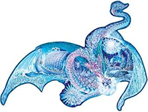 Ravensburgur 1000 Piece Shaped Puzzle - Ice Dragon