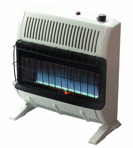 Mr. Heater 30,000 BTU Natural Gas Blue Flame Vent Free Heater (Wall Heater Btu compare prices)