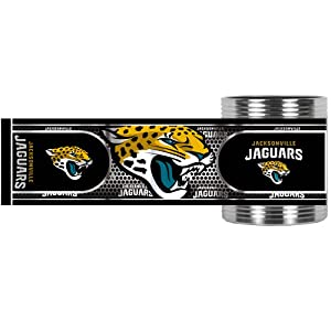 NFL Jacksonville Jaguars Metallic Can Holder, Stainless Steel by Great American Products