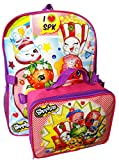 "Shopkins 16"" Large Backpack with Detachable Lunch Box Bag"