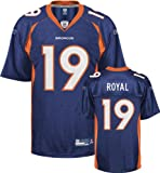 Eddie Royal Denver Broncos NAVY Equipment - Replica NFL YOUTH Jersey
