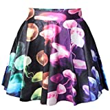 上品キレイめプリントスカート マルチカラーファッションスカート 花柄プリント 花柄スカート