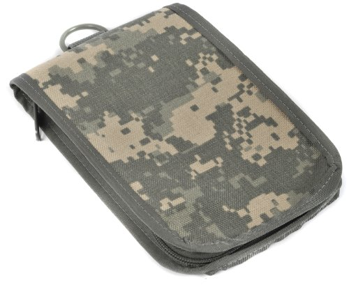 Raine Walking Wallet Notebook Holder, ACU