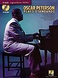 Oscar Peterson Plays Standard Piano Signature Licks Bk/Cd