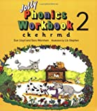 Jolly Phonics Workbook 2: ck, e, h, r, m, d