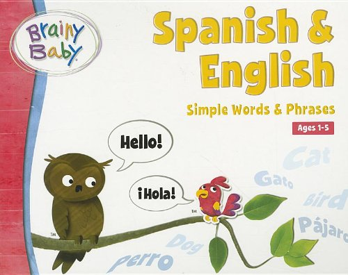 Brainy Baby Spanish/English Board Book Picture