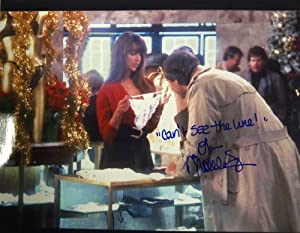 "NICOLETTE SCORSESE Autographed/Signed Chevy Chase/Christmas Vacation 8x10 Photo with Special Inscription ""Can't See the Line"""