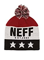 Neff Gorro Big Star (Rojo Oscuro / Blanco / Azul)