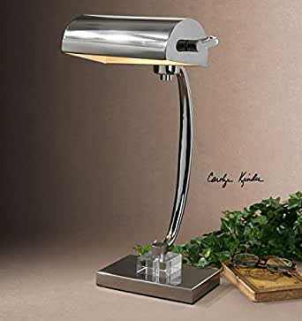 Perfect Tiffany Style Banker Butterfly Desk Lamp   Amazoncom
