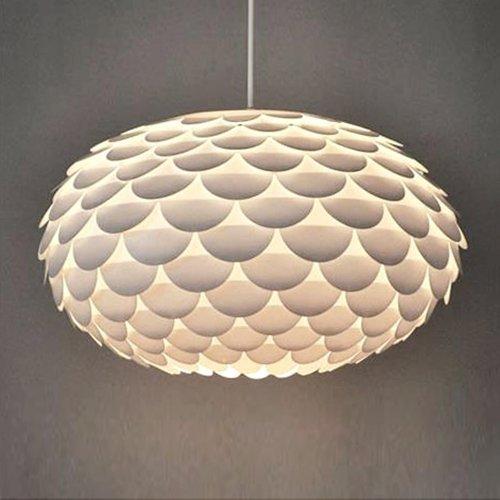 Paralume per lampada a sospensione moderno e firmato - nella forma di un carciofo o un armadillo