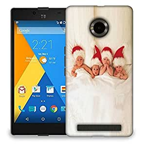 Snoogg Small Babies Designer Protective Back Case Cover For MICROMAX YU YUPHORIA