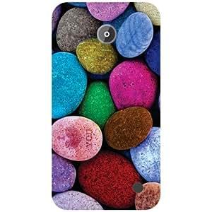 Nokia Lumia 630 Back Cover - Pebbled Designer Cases