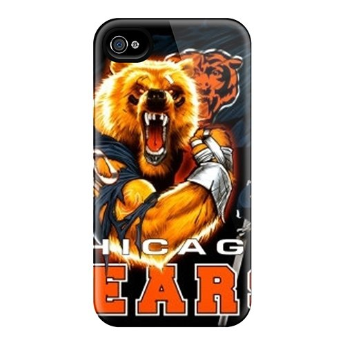 Protection Case For Iphone 4/4S / Case Cover For Iphone(Chicago Bears)