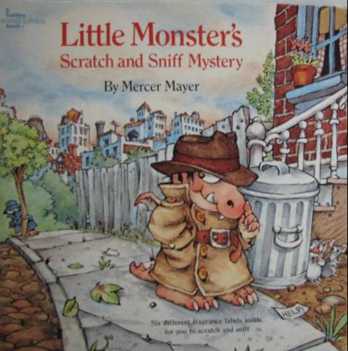 Little Monster's Scratch and Sniff Mystery (A Golden Scratch & Sniff
