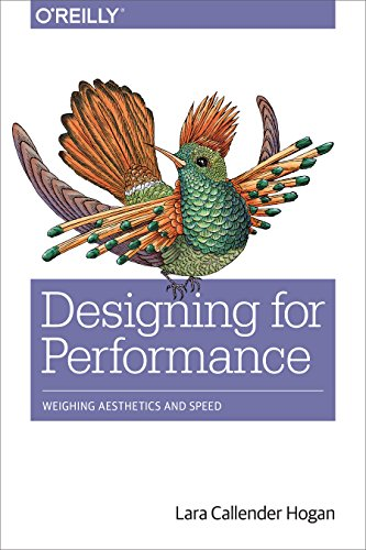 Large book cover: Designing for Performance: Weighing Aesthetics and Speed
