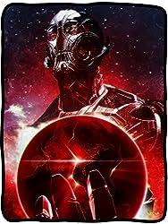 Avengers: Age Of Ultron Red Earth Fleece Throw Blanket