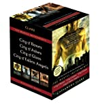 The Mortal Instruments: City of Bones; City of Ashes; City of Glass; City of Fallen Angels