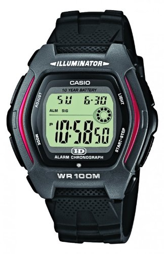 Casio HDD-600-1AVES Mens Resin Digital Watch