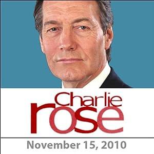 Charlie Rose: Paul Ryan and Ian Bremmer, November 15, 2010 Radio/TV Program