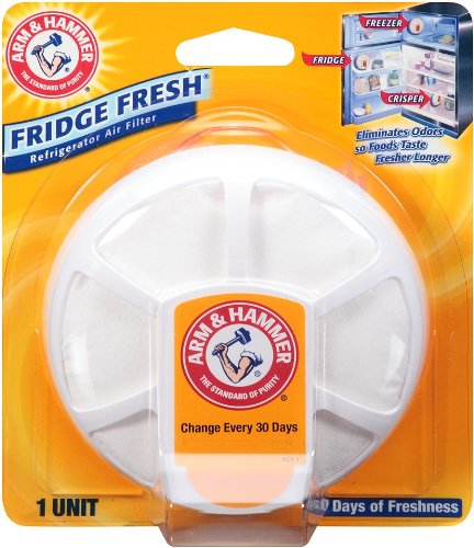 Arm & Hammer Fridge Fresh Refrigerator Air Filter (Pack of 4) (Fridge Refresher compare prices)